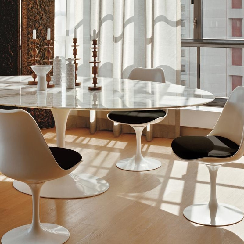 knoll saarinen table. Black Bedroom Furniture Sets. Home Design Ideas
